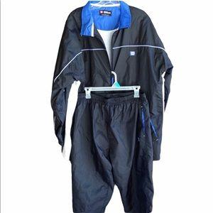 Wilson Track Jacket & Pants Size Large